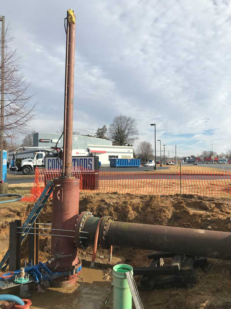 """30"""" Linestop and a 20 Bypass in Dover, Delaware"""