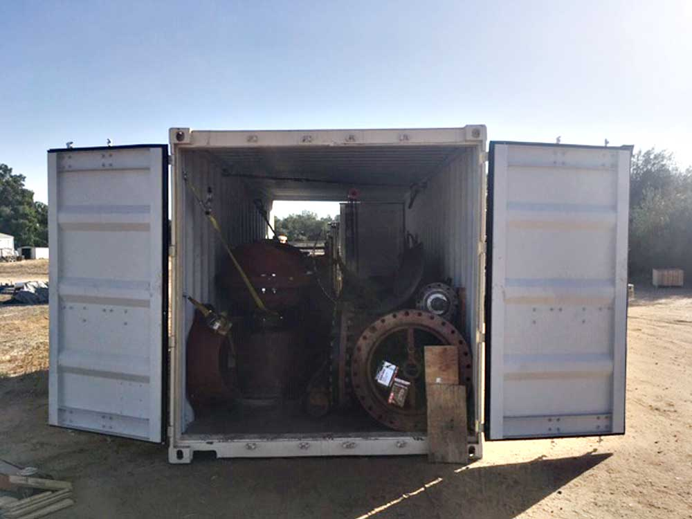 IFT Shipping container for Anchorage, Alaska job is packed full of Linestop equipment and ready to go!