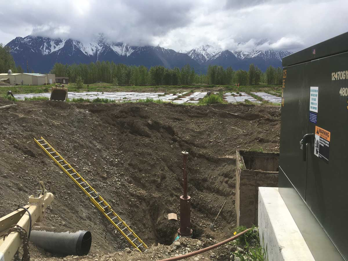 "24"" Linestop Mountain View in Palmer, Alaska"