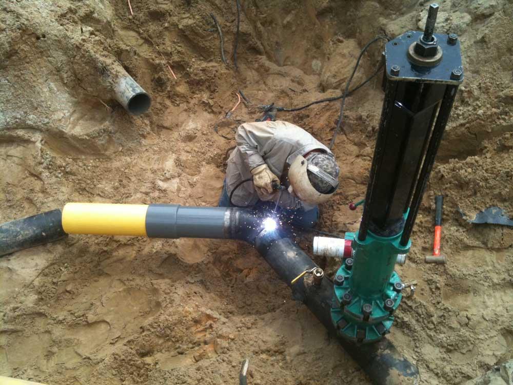 "6"" Vandenberg AFB CA Natural Gas Services Linestop Slideshow"