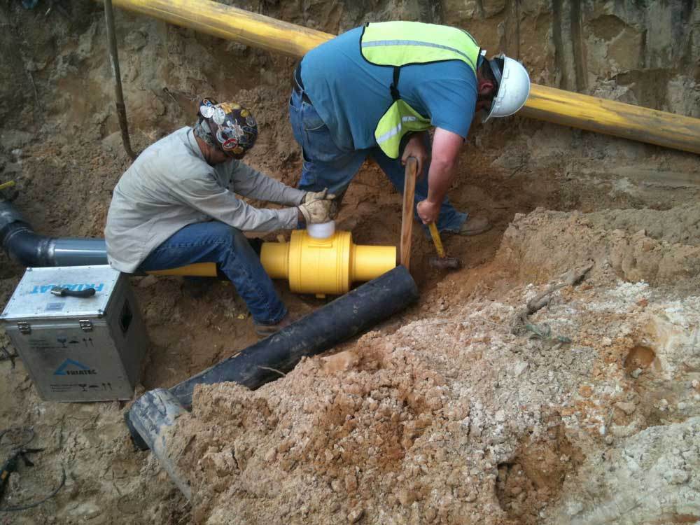 IFT crews are also certified to Fuse HDPE gas pipe.