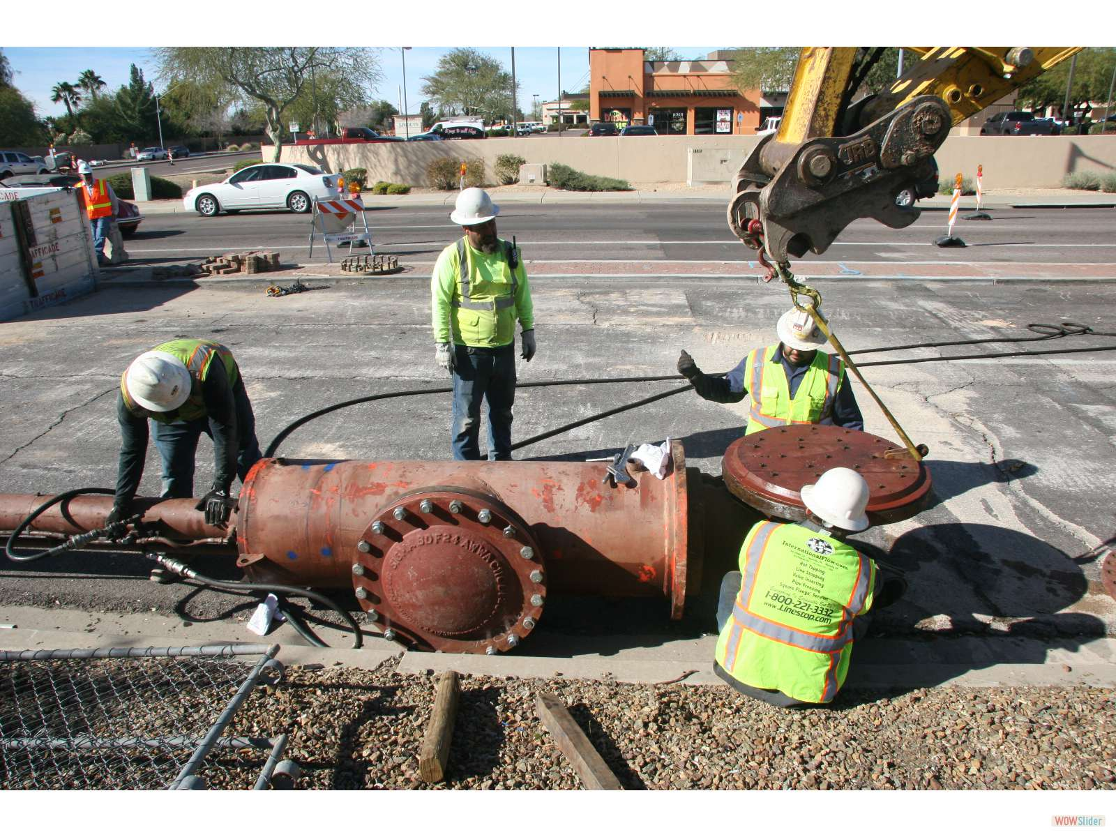 IFT Featured Arizona Job: Multiple Linestop Re-Entries and a Hottap