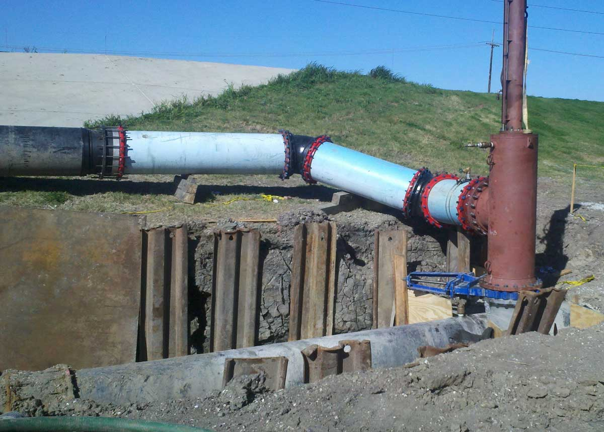 IFT Hottap, Linestop and Bypass on 23inch HDPE Pipeline