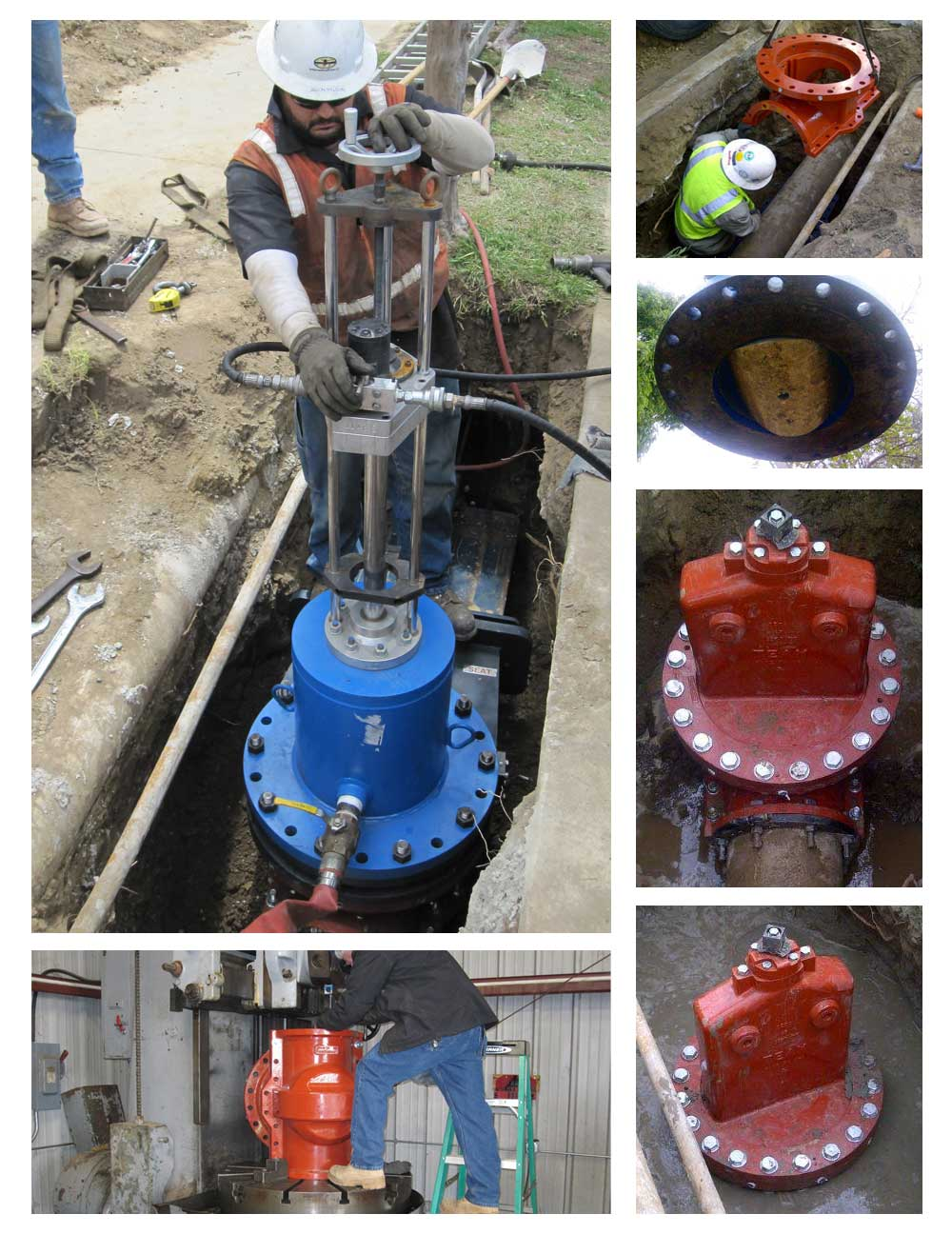 12inch Team Insert Valve Installation Services