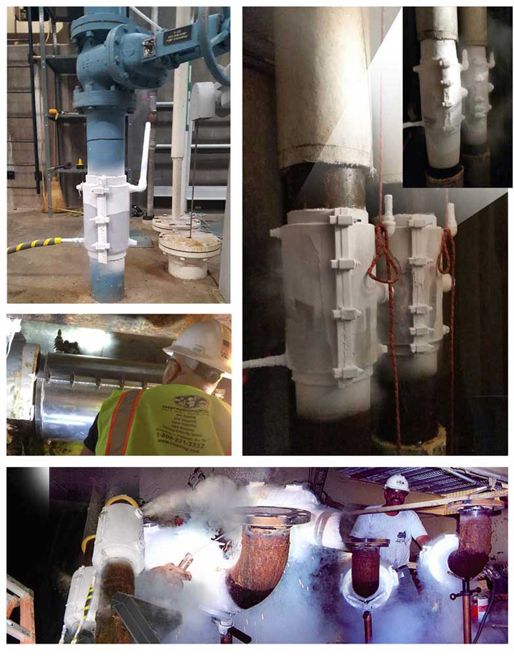 Pipeline Freeze Plugs Using Liquid Nitrogen Services