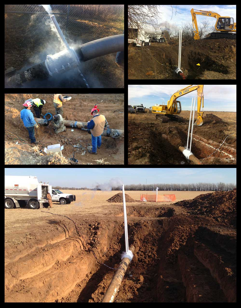 Gas Pipeline Leak Detection Services