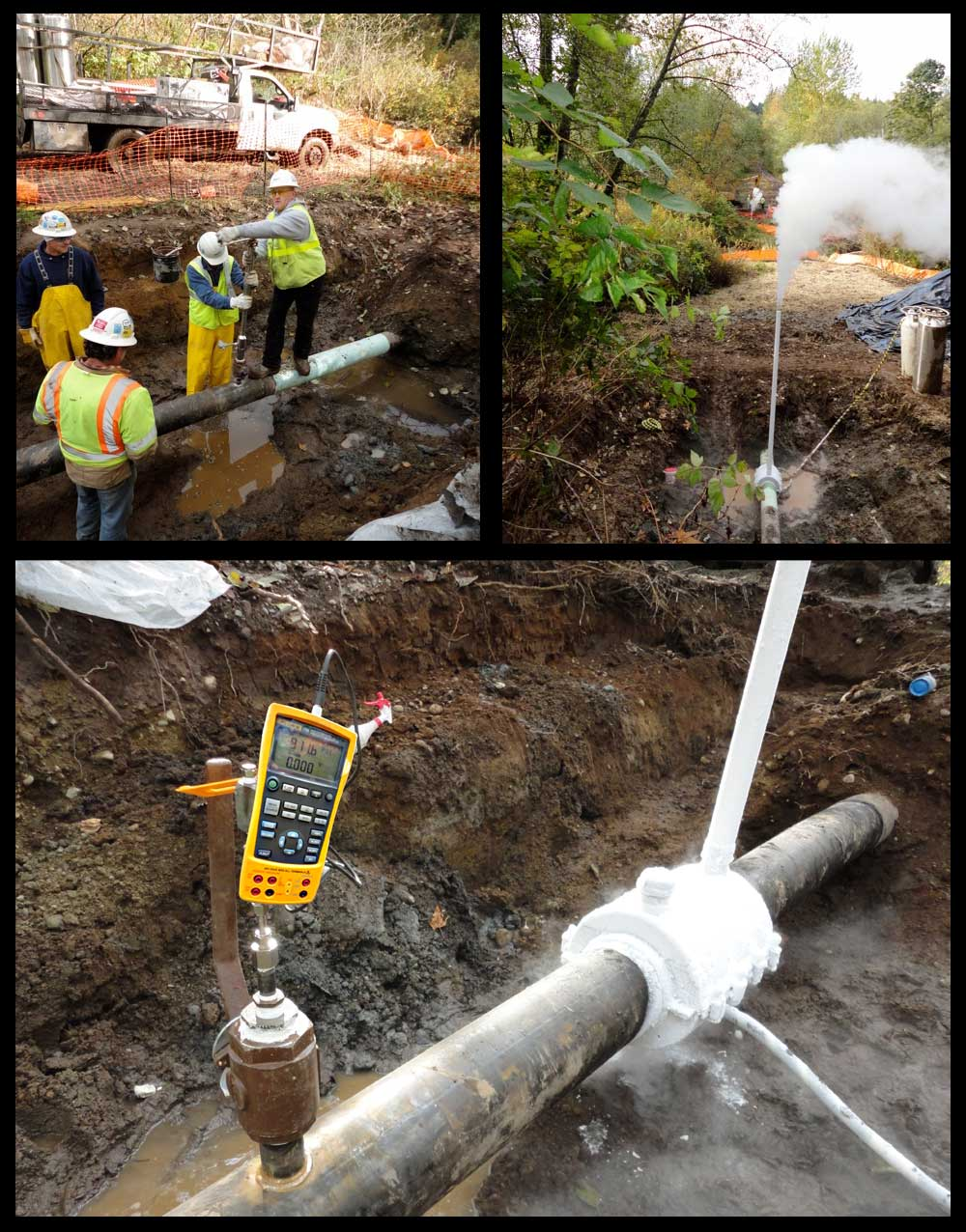 High Pressure PSI Pipeline-Leak-Detection
