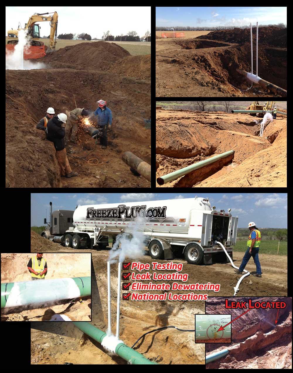 Industrial Pipeline Leak Detection Services
