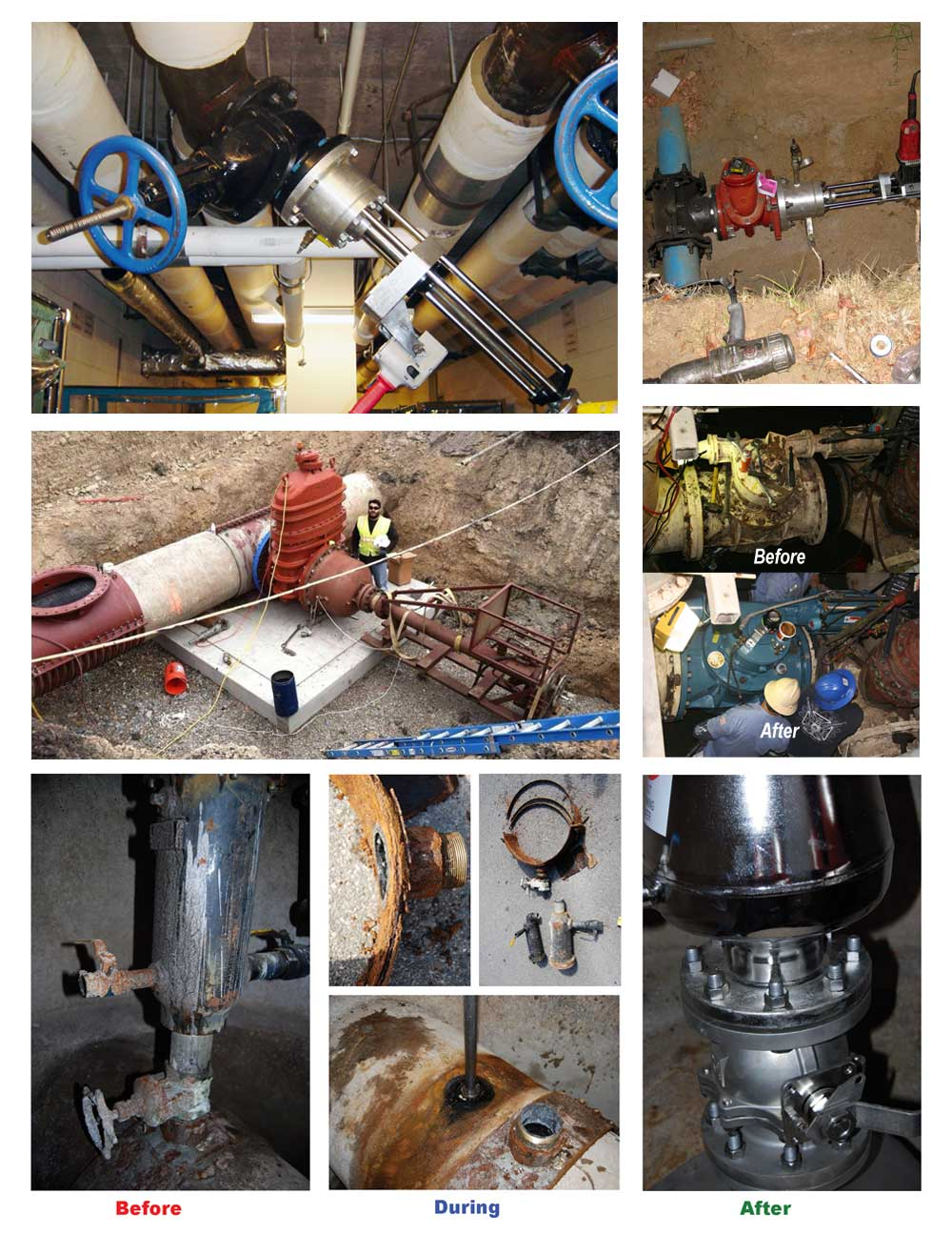 Indoor our Outdoor Valve Installations and Replacements Services Nationwide